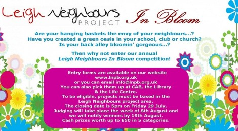 Leigh Neighbours In Bloom Competition!