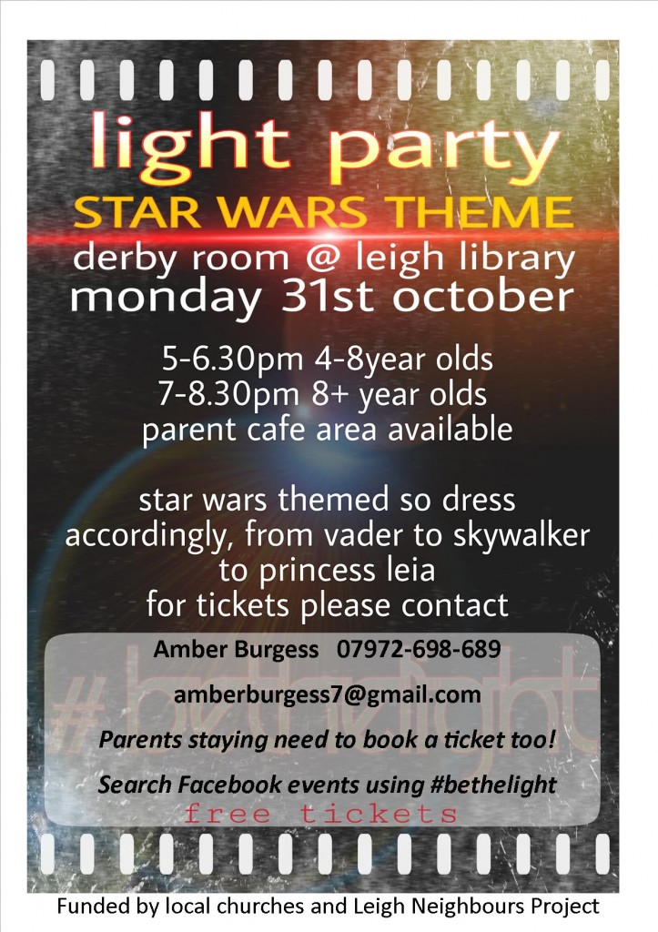light-party-advert