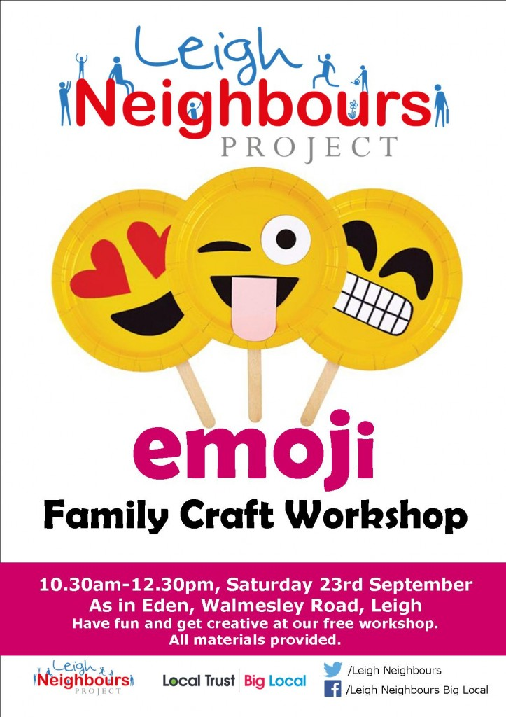 Family Craft workshop September
