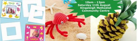 Summer-themed family craft workshop