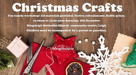 Christmas family craft workshop