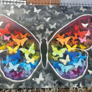 butterfly campaign 2021 painting