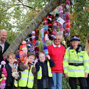 our art neighbourhood yarn bombing